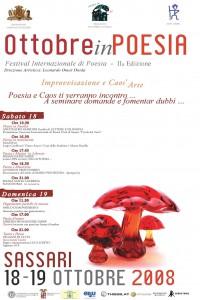 Festival Ottobre in Poesia 2008