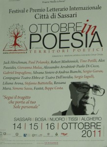Festival Ottobre in Poesia 2011