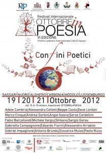 Festival Ottobre in Poesia 2012
